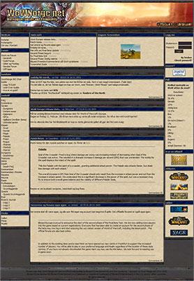 WoWNorge.com | Screenshot puslet sammen av Eirik Hafskjold