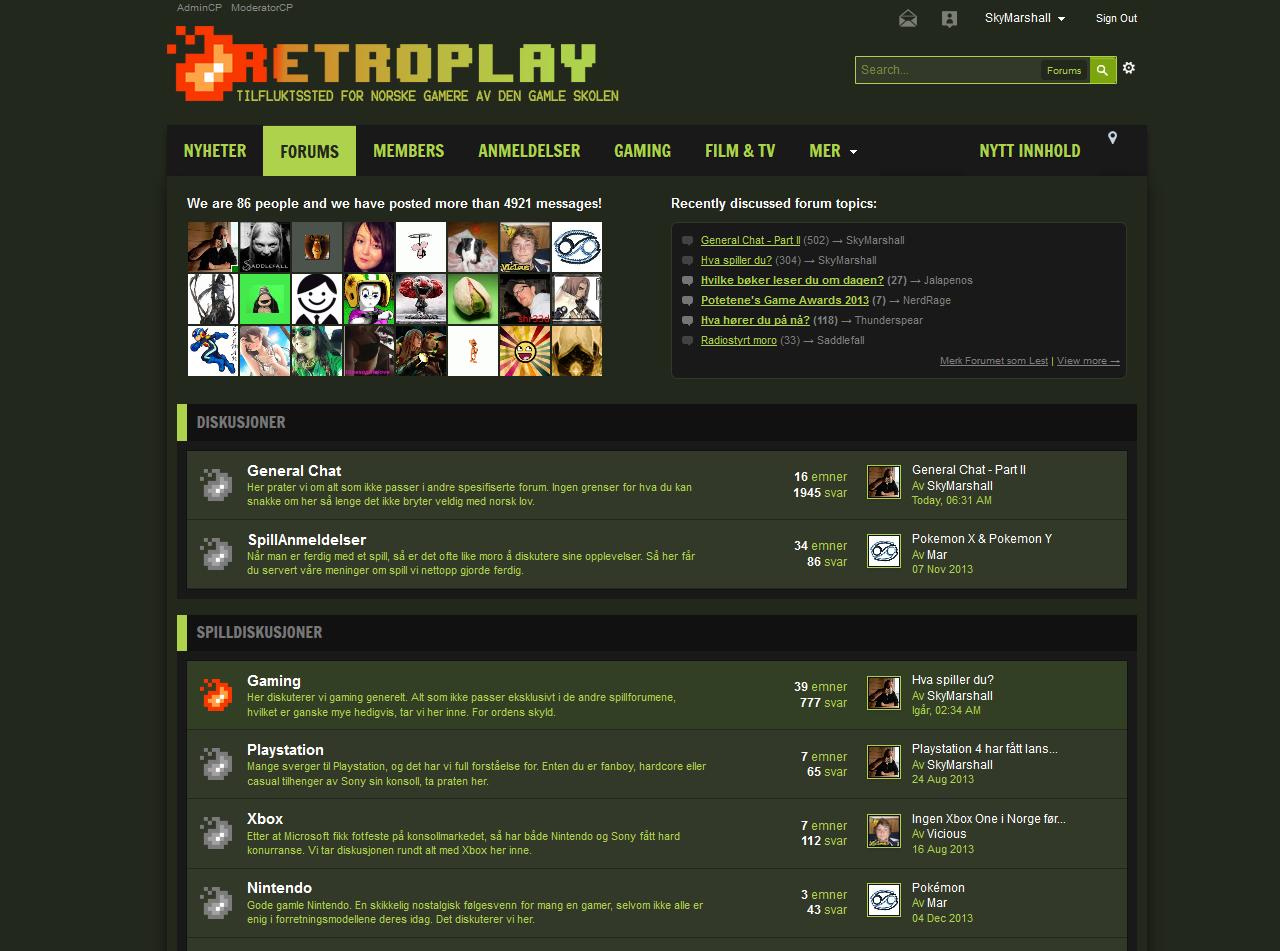 RetroPlay.no | Forum